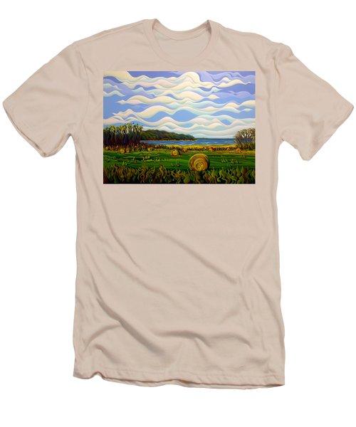 Gaspe's Grand Serenousphere Men's T-Shirt (Athletic Fit)