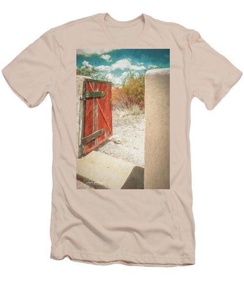 Gate To Oracle Men's T-Shirt (Athletic Fit)