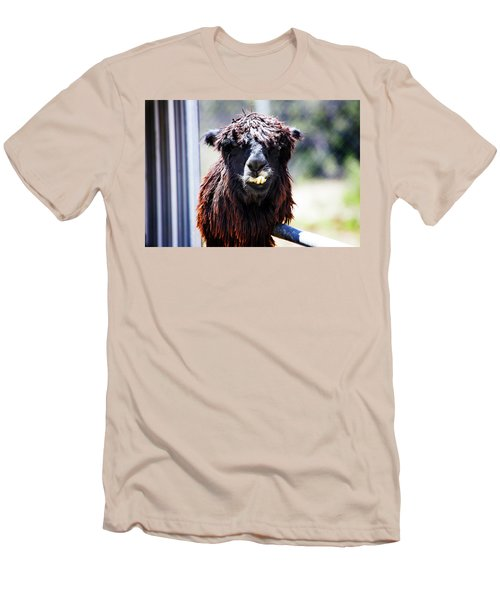 Men's T-Shirt (Slim Fit) featuring the photograph Geofery by Anthony Jones