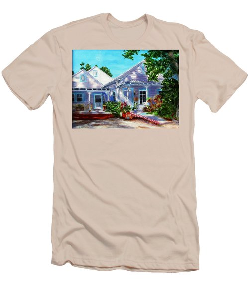 Georgia Street, Key West Men's T-Shirt (Athletic Fit)