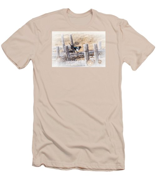 Men's T-Shirt (Slim Fit) featuring the photograph Gettin Jiggy Widit by Daniel Hebard