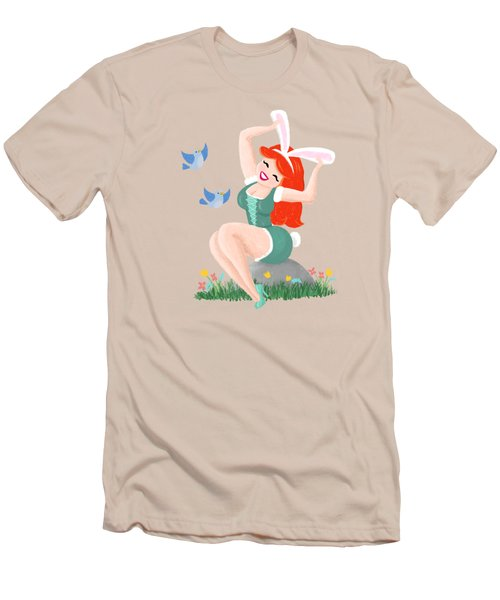 Getting Ready For Spring Men's T-Shirt (Athletic Fit)