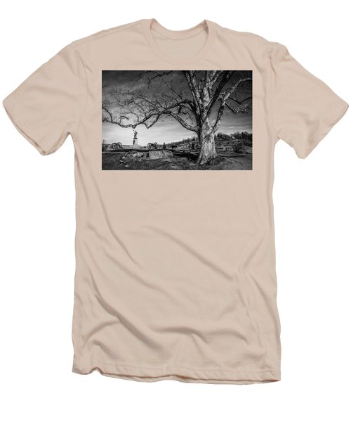 Gettysburg Below Little Round Top Men's T-Shirt (Athletic Fit)