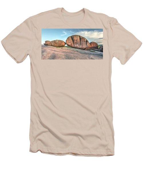Giant Potatoes Men's T-Shirt (Slim Fit) by Harold Rau