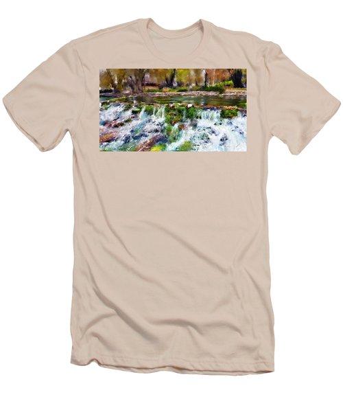Giant Springs 1 Men's T-Shirt (Slim Fit) by Susan Kinney