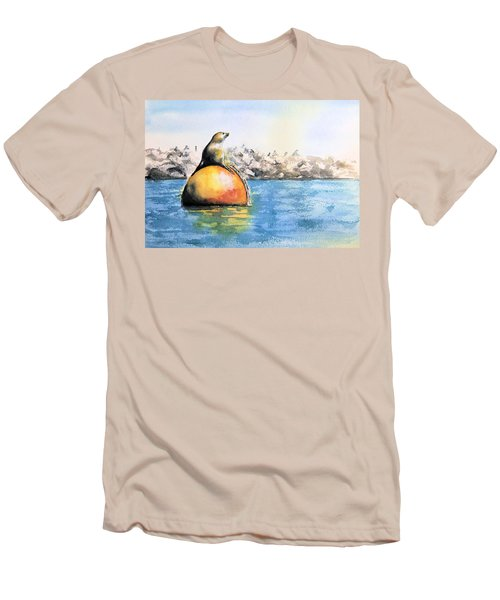 Girl And Buoy Men's T-Shirt (Athletic Fit)