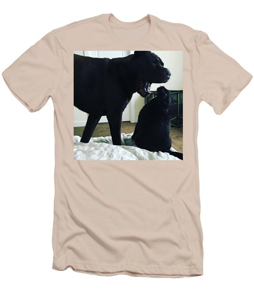 Giving Orders Men's T-Shirt (Athletic Fit)