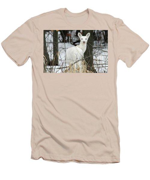 Giving Raspberries Men's T-Shirt (Slim Fit) by Brook Burling