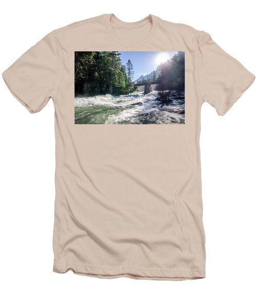 Glacier National Park Beauty Men's T-Shirt (Athletic Fit)