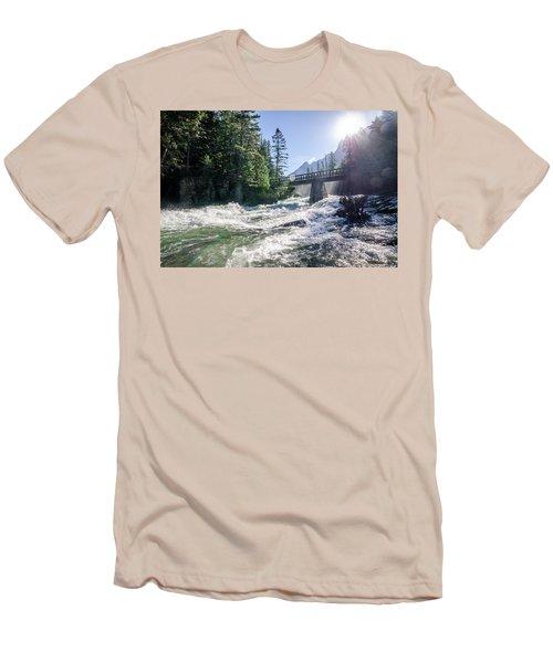 Glacier National Park Beauty Men's T-Shirt (Athletic Fit)