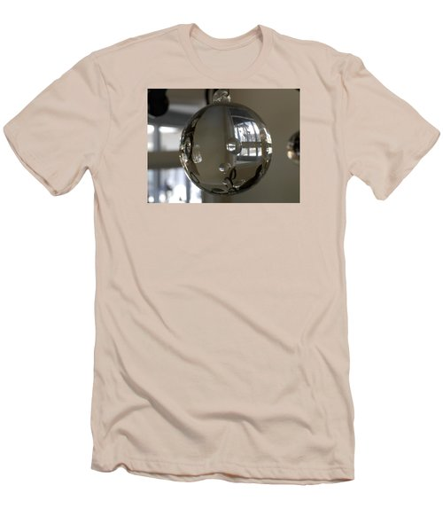 Glass Reflectons Men's T-Shirt (Slim Fit) by Russell Keating