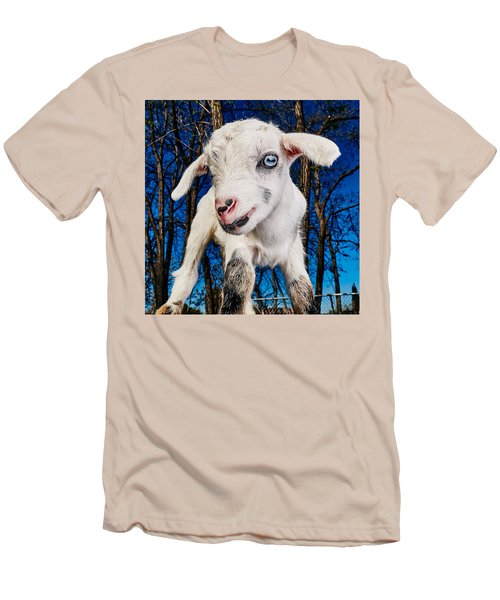 Goat High Fashion Runway Men's T-Shirt (Athletic Fit)