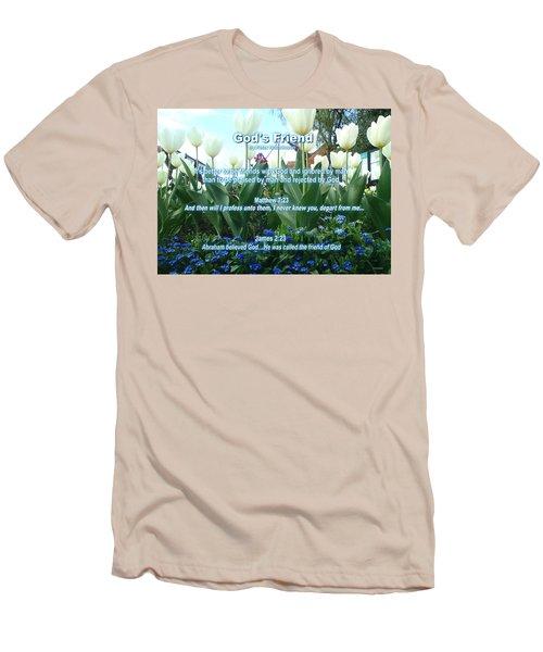 Gods Friend Men's T-Shirt (Athletic Fit)