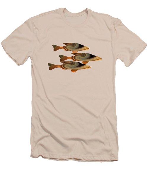Gold Fish Men's T-Shirt (Athletic Fit)