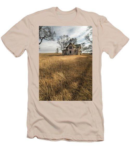 Golden Prairie  Men's T-Shirt (Slim Fit) by Aaron J Groen