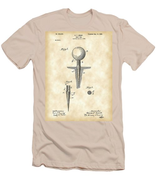 Golf Tee Patent 1899 - Vintage Men's T-Shirt (Athletic Fit)