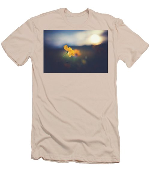 Men's T-Shirt (Slim Fit) featuring the photograph Goodnight Sun by Shane Holsclaw
