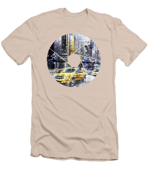Graphic Art New York City Men's T-Shirt (Athletic Fit)