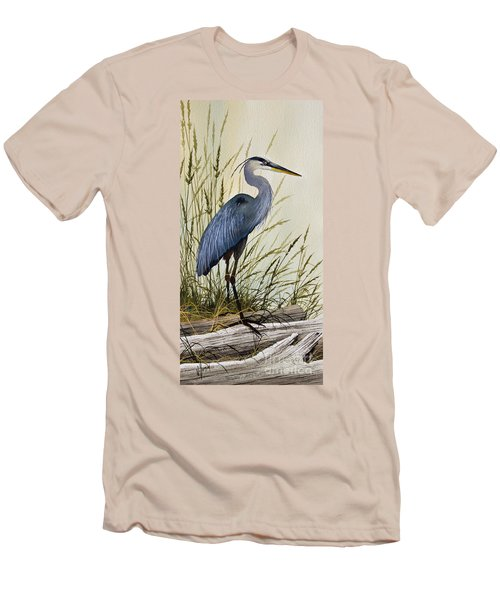 Great Blue Heron Splendor Men's T-Shirt (Athletic Fit)