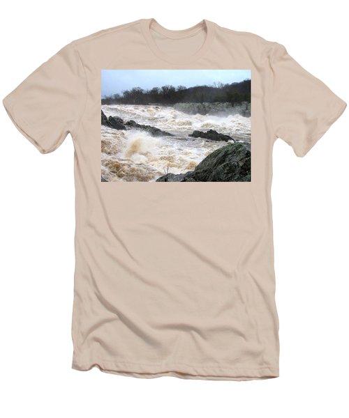 Great Falls Torrent Men's T-Shirt (Athletic Fit)