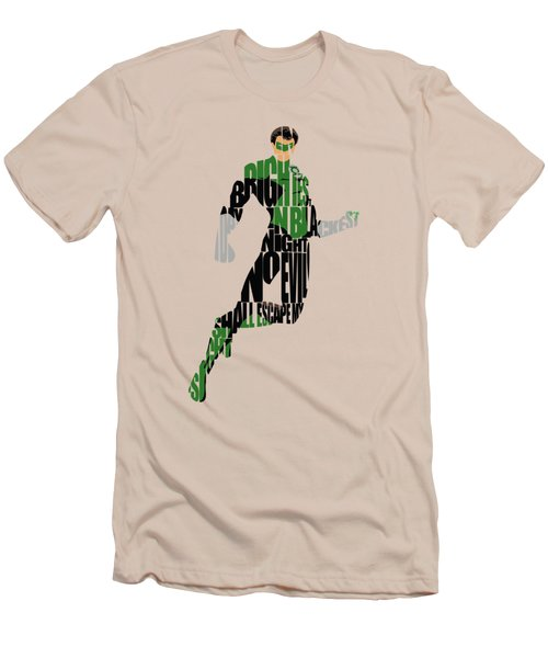 Green Lantern Men's T-Shirt (Athletic Fit)