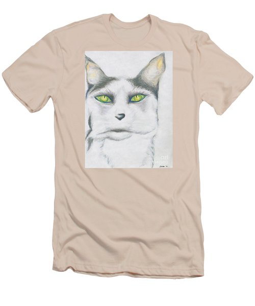 Men's T-Shirt (Slim Fit) featuring the drawing Gretta by Kim Sy Ok