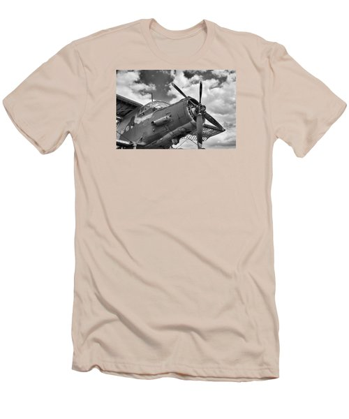 Grounded Men's T-Shirt (Slim Fit) by Tgchan