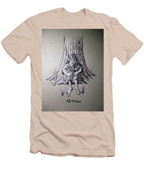 Grow Men's T-Shirt (Athletic Fit)