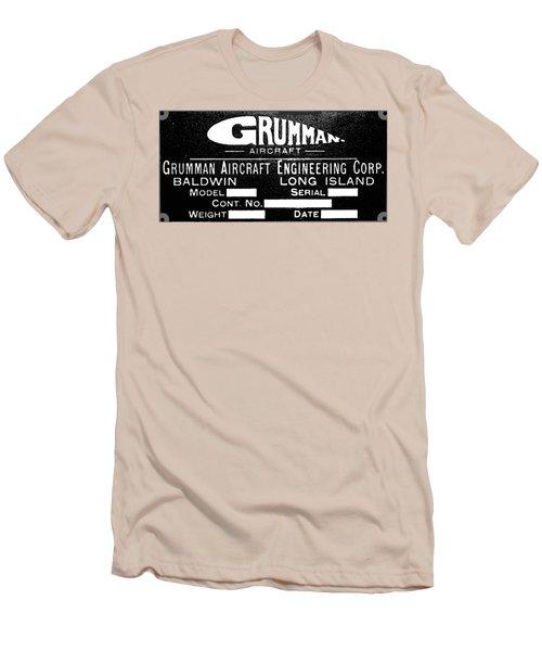 Grumman Product Plate Men's T-Shirt (Athletic Fit)
