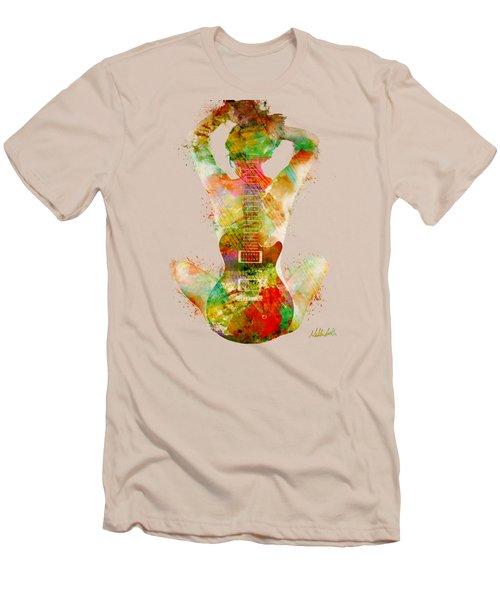 Guitar Siren Men's T-Shirt (Slim Fit)