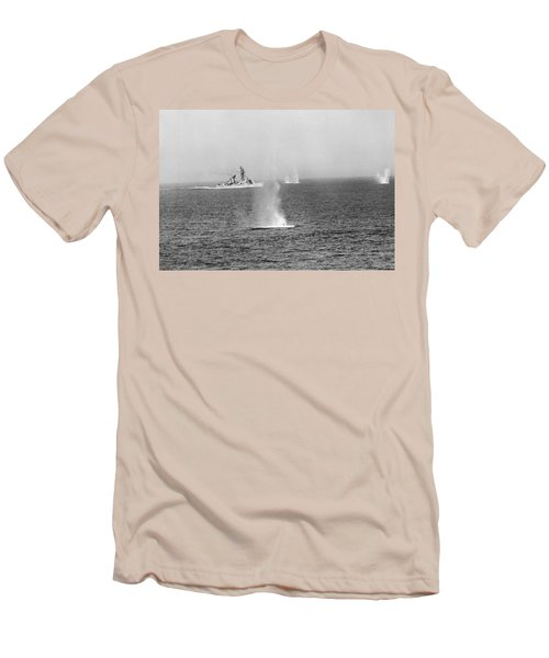 Gulf Of Tonkin Warfare Men's T-Shirt (Athletic Fit)