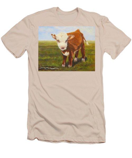Gus, Cow Men's T-Shirt (Athletic Fit)