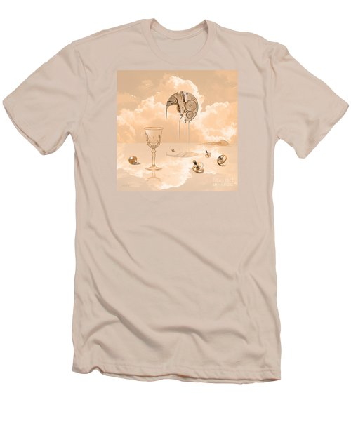 Men's T-Shirt (Slim Fit) featuring the digital art Beyond Time by Alexa Szlavics