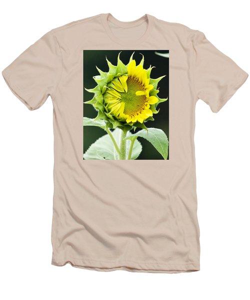 Halfway There Men's T-Shirt (Slim Fit) by Tiffany Erdman