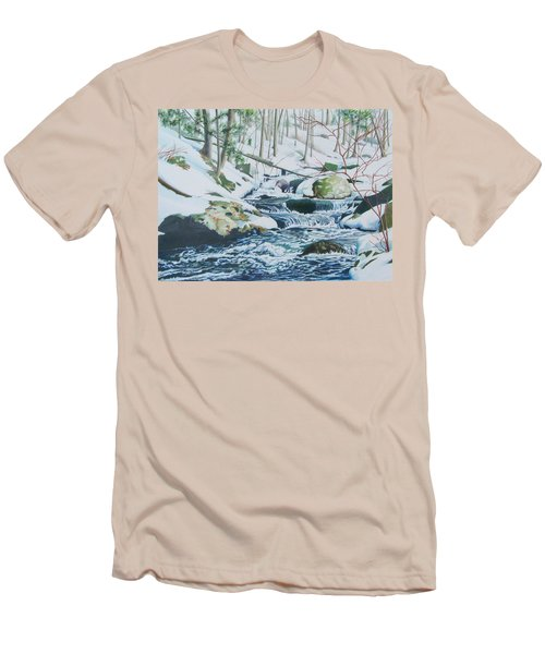 Hamburg Mountain Stream Men's T-Shirt (Athletic Fit)
