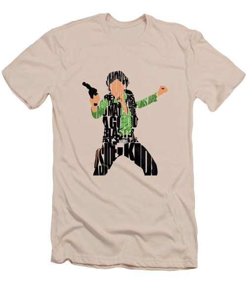 Han Solo From Star Wars Men's T-Shirt (Athletic Fit)