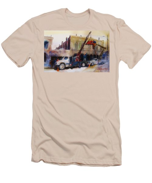 Hanging Red Ace #2 Men's T-Shirt (Athletic Fit)
