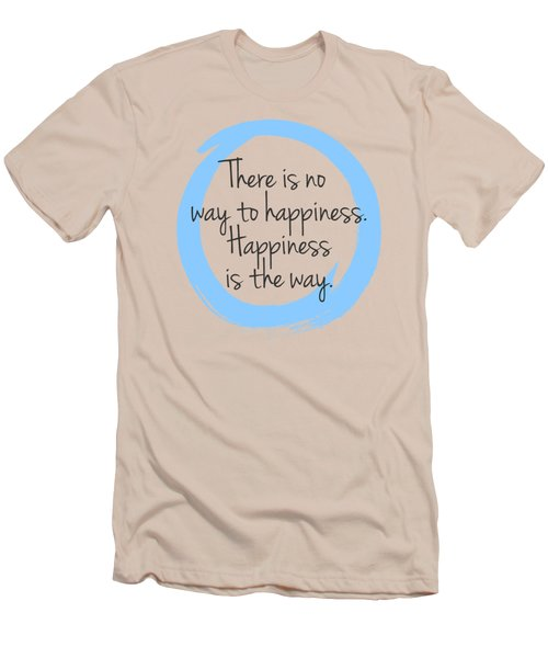 Happiness Men's T-Shirt (Slim Fit)