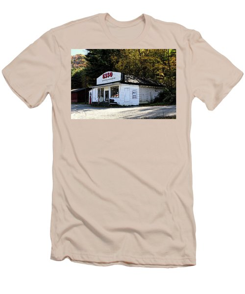Happy Motoring Men's T-Shirt (Slim Fit) by Dale R Carlson