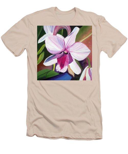 Happy Orchid Men's T-Shirt (Slim Fit)