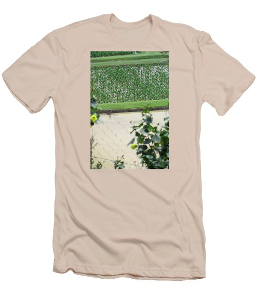 Hawaiian Transplants Men's T-Shirt (Slim Fit) by Brenda Pressnall