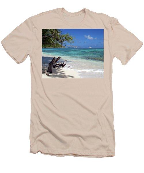 Hawksnest Bay 1 Men's T-Shirt (Athletic Fit)