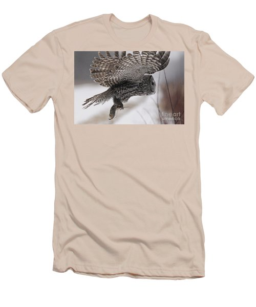 Men's T-Shirt (Slim Fit) featuring the photograph Heading Home With The Booty by Larry Ricker