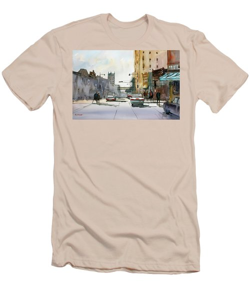 Heading West On College Avenue - Appleton Men's T-Shirt (Athletic Fit)