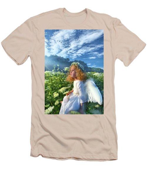 Heaven Sent Men's T-Shirt (Slim Fit) by Phil Koch