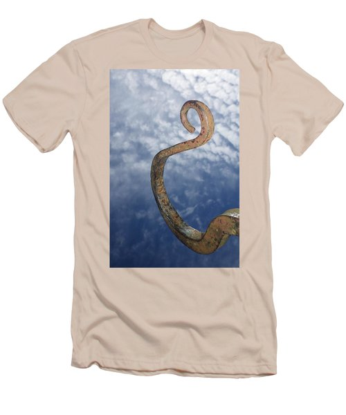 Heavenly Sky Hook Men's T-Shirt (Athletic Fit)