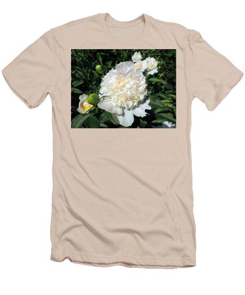 Heavenly White Men's T-Shirt (Slim Fit) by Teresa Schomig