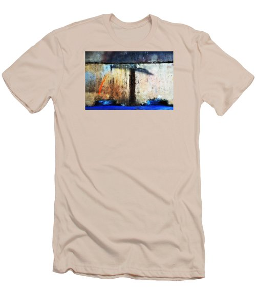 Men's T-Shirt (Slim Fit) featuring the photograph Heavy Wait by Newel Hunter
