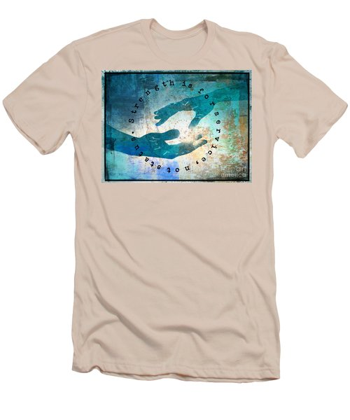 Helping Hands Men's T-Shirt (Athletic Fit)