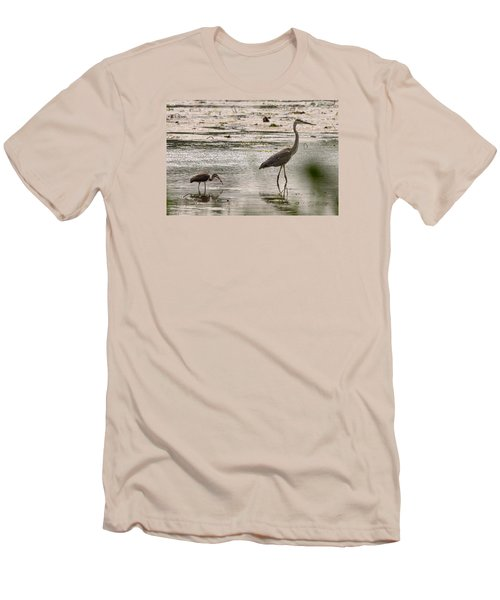 Heron And Ibis Men's T-Shirt (Athletic Fit)